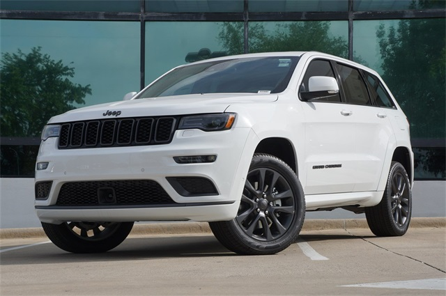 New 2018 JEEP Grand Cherokee Overland Sport Utility in Grapevine ...