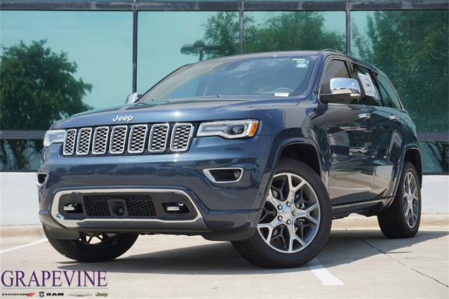 Jeep Cherokee Overland >> New 2019 Jeep Grand Cherokee Overland Sport Utility In Grapevine